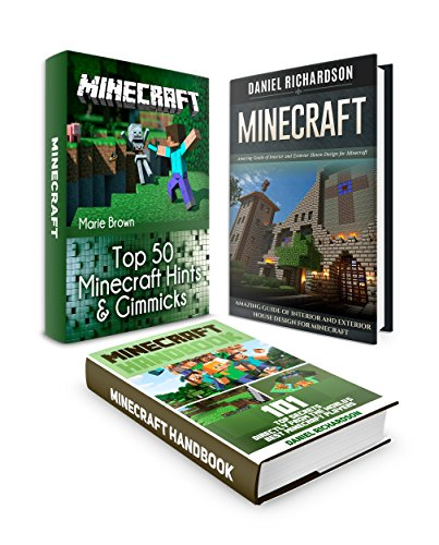 Minecraft Box Set: Over 150 Best Minecraft Tips From the World's Best Minecraft Players plus Amazing Guide for Minecraft House Designs (minecraft, minecraft cheats, minecraft guide)