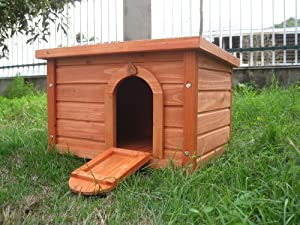 BUNNY BUSINESS Rabbit/ Guinea Pig Deluxe Hide House/ Run Hutch, 60 × 40 × 40 cm