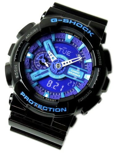Gee and shock G-shock CASIO g-shock Casio GA-110HC-1 G shock watch an analog-digital ハイパーカラーズ Hyper Colors [parallel import goods]