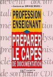 echange, troc D. Beudez - Préparer le CAPES de documentation