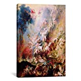 iCanvasART 1442 The Fall of The Damned Canvas Print by Peter Paul Rubens, 26 by 18-Inch, 0.75-Inch Deep