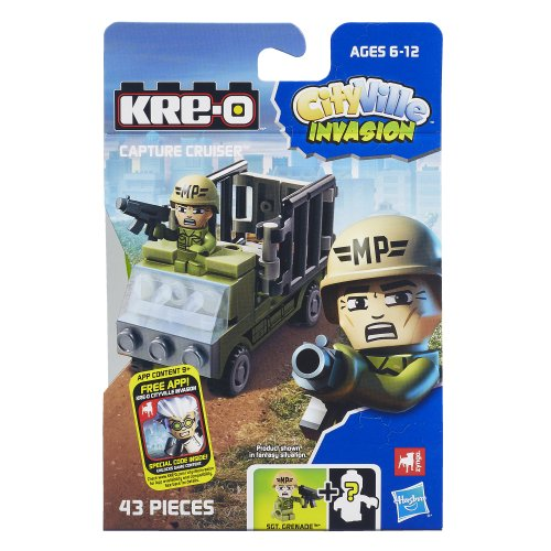 KRE-O CityVille Invasion Capture Cruiser Set (A4910) - 1