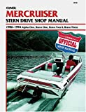 Mercruiser: Stern Drive Shop Manual 1986-1994 : Alpha One, Bravo One, Bravo Two & Bravo Three