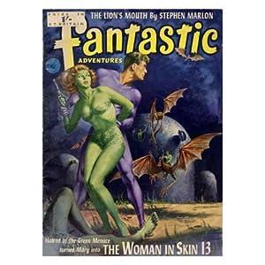 pulp magazine cover  1950s