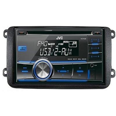 JVC Autoradio 2-DIN CD MP3 USB -Tuner Set für VW Volkswagen Golf V , Caddy, Touran, Polo ab 2009 , Jetta, Golf VI 6, Passat, Multivan von Systafexjvc auf Reifen Onlineshop