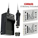 Kastar Battery (2-Pack) and Charger Kit for Nikon EN-EL8, Nikon MH-62 work with Nikon Coolpix P1, Coolpix P2, Coolpix S1, Coolpix S2, Coolpix S3, Coolpix S5, Coolpix S6, Coolpix S7, Coolpix S7c, Coolpix S8, Coolpix S9, Coolpix S50, Coolpix S50c, Coolpix S51, Coolpix S51c, Coolpix S52, Coolpix S52c, Cool-Station MV-11, MV-121 Cameras