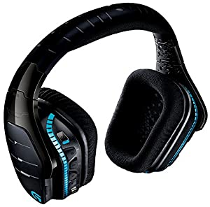 Logitech G933 Artemis Spectrum RGB 7.1 Surround Sound Gaming Headset, Wireless Headphones and Microphone (Certified Refurbished)