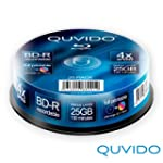 25 QUVIDO BD-R 25GB 4x full printable...