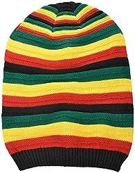Masti Station Bob Marley Beanie Unisex Woolen Hat (Wbc01)
