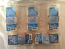 30 Glade Vanilla Biscotti Wax Melts Send A Little Love Winter Collection 5 PACKS