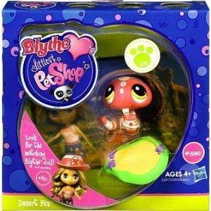 Littlest Pet Shop Blythe Loves Postcards Series 1 Figure Desert FunSnake by Hasbro (English Manual)