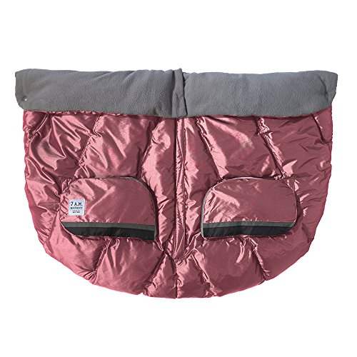 7AM Enfant Duo Double Stroller Blanket, Metallic Lilac