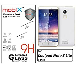 Mobix CN3lite Screen Protector Tempered Glass Screen Protector MobiX Brand Anti Bubble Anti Finerprint Premium For for Coolpad Note 3 Lite