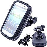 VicTsing Schutzhülle für iPhone 5 / 5S / 5C / 4S / 4G / 4 / 3GS / 3G / iPod / GPS (wasserdicht, mit Lenkerhalterung für Fahrräder und Motorräder)