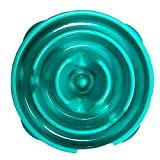 Outward Hound Fun Feeder Dog Bowl Slow Feeder Stop Bloat for Dogs, Small, Teal