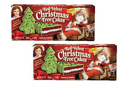 Little Debbie Red Velvet Christmas Tree Cakes 2 Pack Shopswell