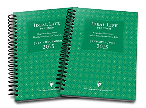 2015 Ideal Life Planner 12 Month Dated Planner (Green)