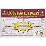 J.J. Keller 8524 Loose Leaf Driver's Daily Log Sheet with DVIR