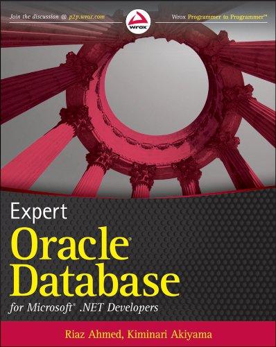 Expert Oracle Database for Microsoft .NET Developers