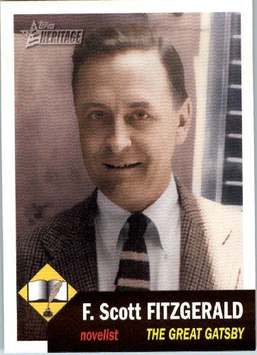 F. Scott Fitzgerald baseball card