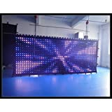 P9cm 2X5M led video curtain led stage light curtain