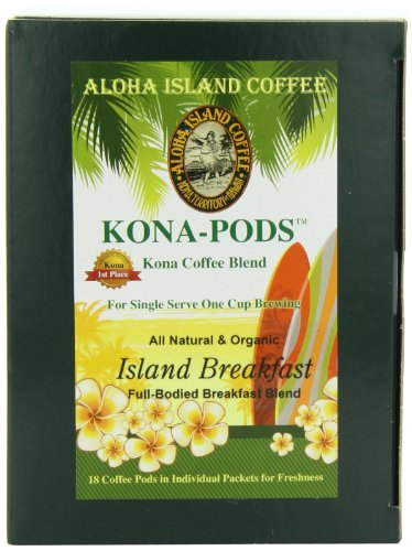 aloha island coffee kona pod island breakfast med light. Black Bedroom Furniture Sets. Home Design Ideas