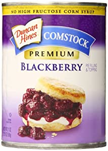 Comstock Premium Fruit Filling, Blackberry, 21 Ounce (Pack of 8)