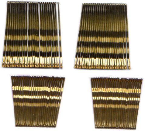 96 Pcs Bobby Pins, Hair Accessories, Brown