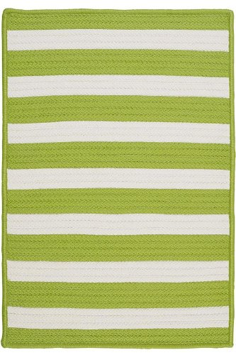 Baxter Area Area Rug, 4' SQUARE, BRIGHT LIME