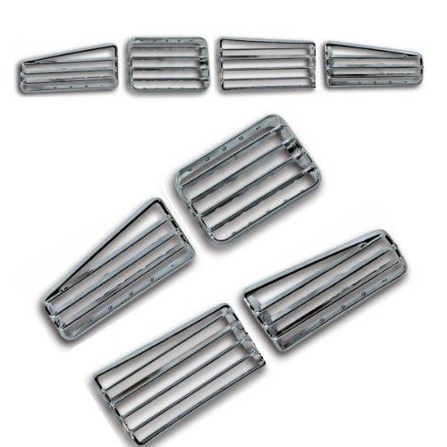 akhan-clg9204-Faade-Chrome-Grille-de-ventilation-Convient-pour-VW-Golf-3