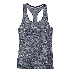 adidas Women's Body Blouse Top (AI7993_Blue_M)