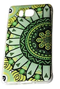 Soft protective TPU back cover all over beautiful printed in abstract design .. 100% compatible for : Samsung Galaxy Alpha - G850
