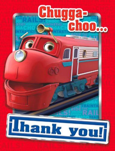Chuggington Thank-You Notes (8) Party Supplies
