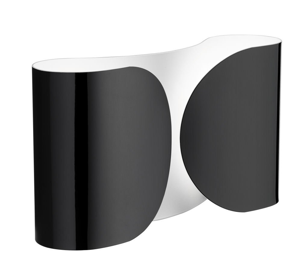 Flos Foglio Wall Light Finish, Black       Customer review and more information