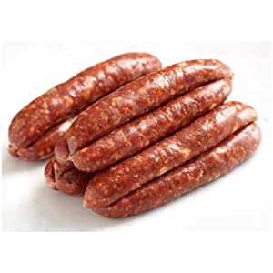Merguez Sausages - Spicy Lamb Sausages 1.1 Lbs: Amazon.com: Grocery ...