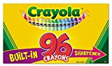 Crayola Crayons with Built-in Sharpener, 96 Count (Pack of 2) 192 Crayons Total