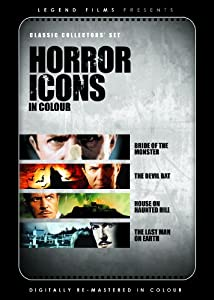 Horror Icons (Digitally remastered in colour) (Bride/Devil Bat/House/Last Man) [DVD] [1941]