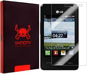 Skinomi® TechSkin - LG 840G Screen Protector Premium HD Clear Film with Lifetime Replacement Warranty / Ultra High Definition Invisible and Anti-Bubble Crystal Shield - Retail Packaging