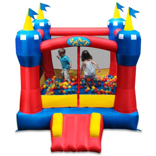 Find Bargain Blast Zone Magic Castle Inflatable Bouncer