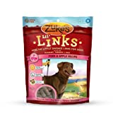 Zuke's Lil' Links Healthy Grain Free Little Sausage Links for Dogs, Pork and Apple Recipe, 6-Ounce