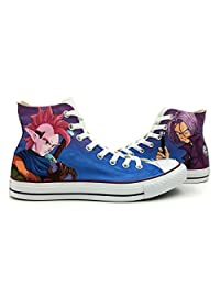 Dragon Ball Z Converse Shoes All Star Hand Painted High Top Canvas Shoes