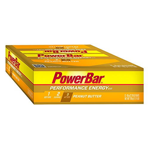 POWERBAR Food Performance Peanut Butter (Box of 12) (Powerbar Energy Wafer compare prices)