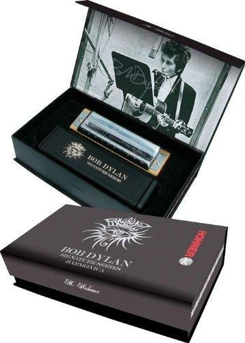 """Hohner, serie """"Signature"""", motivo: Bob Dylan-Armonica in chiave di Do"""