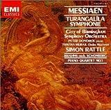 メシアン:トゥーランガリーラ交響曲,ブラームス(シェーンベルク編):ピアノ四重奏曲第1番
