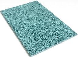 Soft Aqua Blue/Green - 5\'x8\' Custom Carpet Area Rug