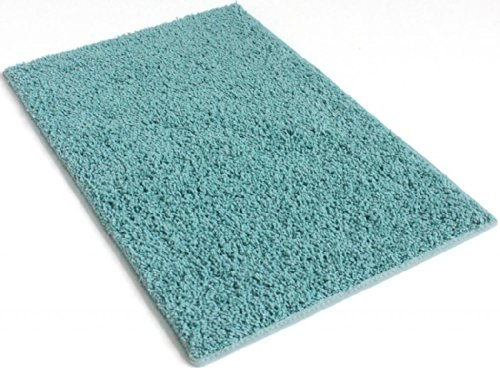 Soft Aqua Blue/Green - 3'X5' Custom Carpet Area Rug front-1076387
