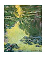 Especial Arte Lienzo Le Bassin des Nympheas Multicolor
