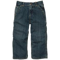 OshKosh B\'Gosh Boys Carpenter Jeans (6M-24M) (12 Months, Ruff Medium Wash)