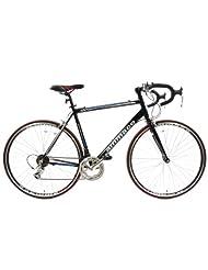 AMMACO XRS650 LIGHTWEIGHT ALLOY FRAME ROAD RACING BIKE 64cm FRAME GLOSS BLACK