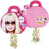 Lets Party By YA OTTA PINATA Barbie All Doll&#039;d Up 19&quot; Pull-String Pinata